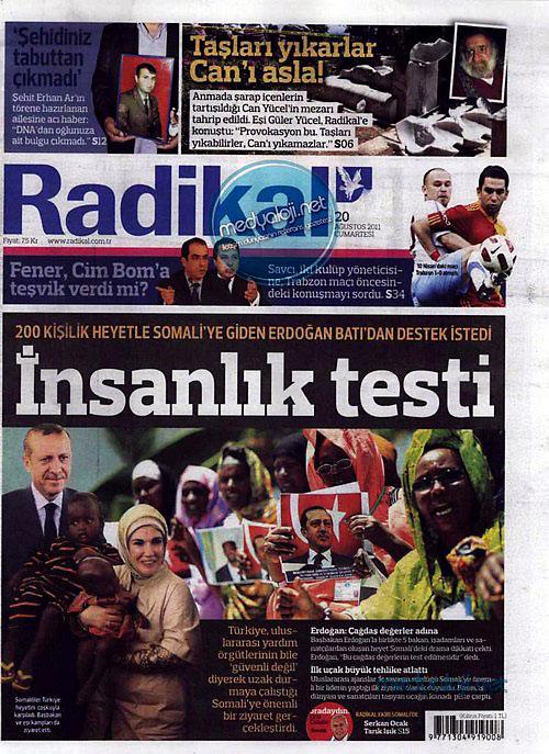 Günün Gazete Manşetleri (20.08.11) galerisi resim 14