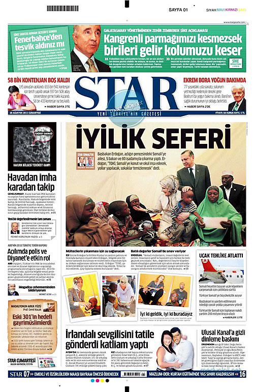 Günün Gazete Manşetleri (20.08.11) galerisi resim 16