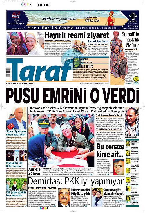 Günün Gazete Manşetleri (20.08.11) galerisi resim 17