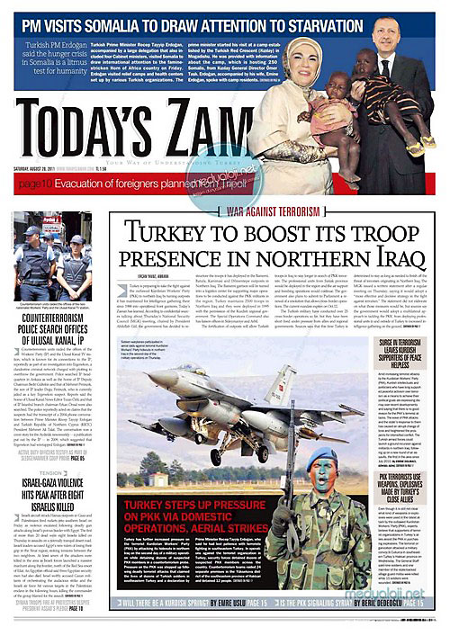 Günün Gazete Manşetleri (20.08.11) galerisi resim 18
