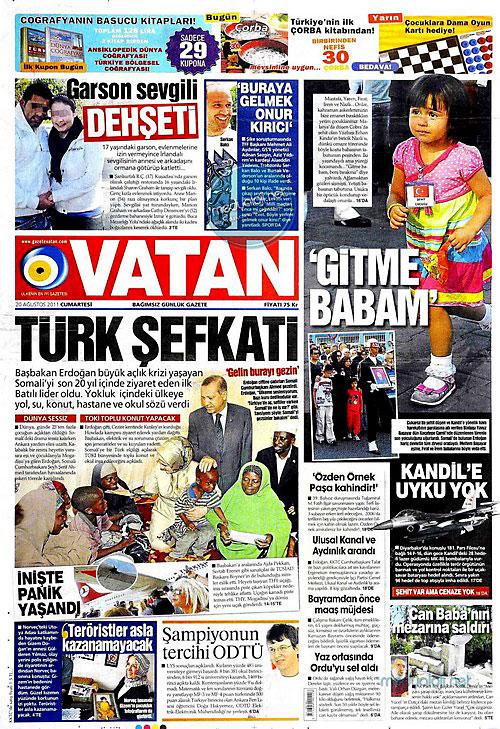 Günün Gazete Manşetleri (20.08.11) galerisi resim 20