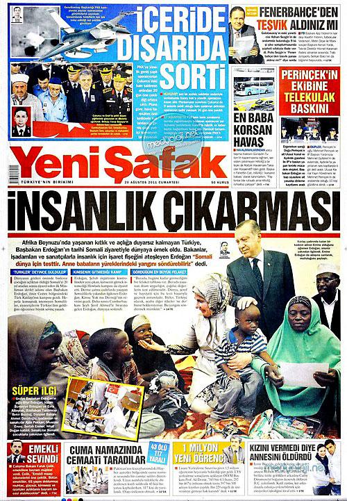 Günün Gazete Manşetleri (20.08.11) galerisi resim 21