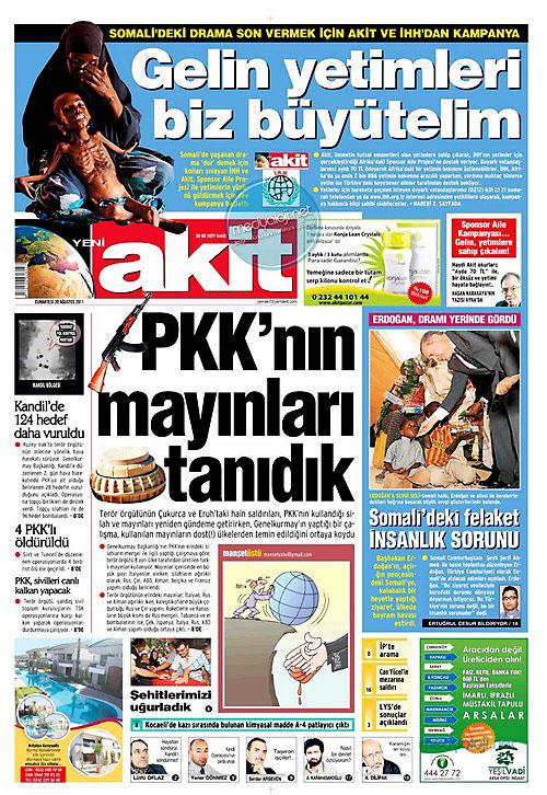 Günün Gazete Manşetleri (20.08.11) galerisi resim 22