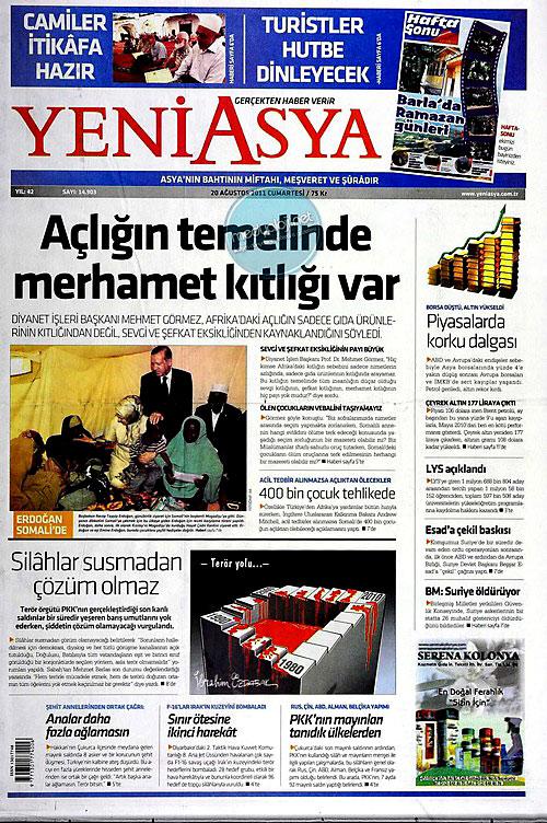 Günün Gazete Manşetleri (20.08.11) galerisi resim 23