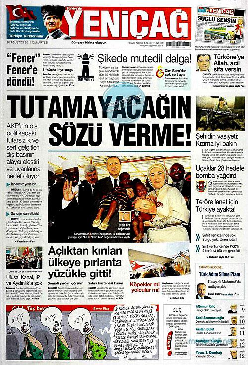 Günün Gazete Manşetleri (20.08.11) galerisi resim 24