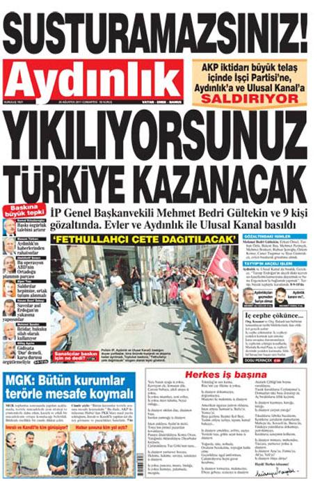 Günün Gazete Manşetleri (20.08.11) galerisi resim 26
