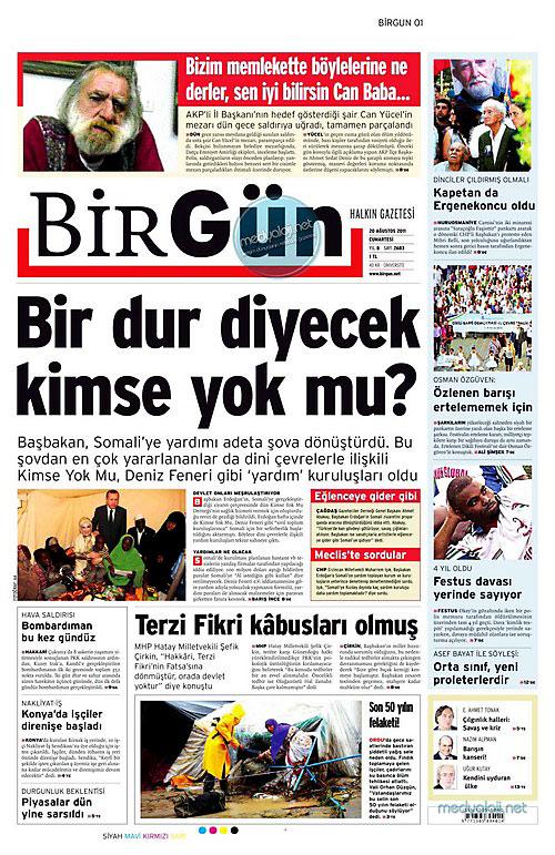 Günün Gazete Manşetleri (20.08.11) galerisi resim 3