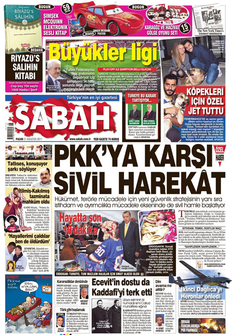 Taraf'tan BDP'ye geri dön manşeti! galerisi resim 13