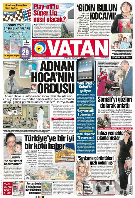 Taraf'tan BDP'ye geri dön manşeti! galerisi resim 19