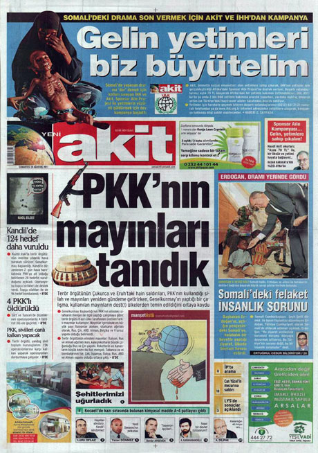 Taraf'tan BDP'ye geri dön manşeti! galerisi resim 20