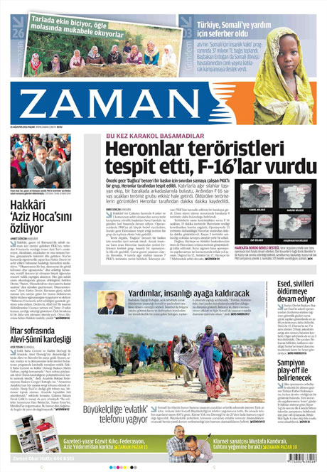 Taraf'tan BDP'ye geri dön manşeti! galerisi resim 22