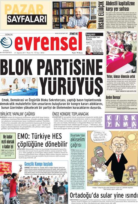 Taraf'tan BDP'ye geri dön manşeti! galerisi resim 23