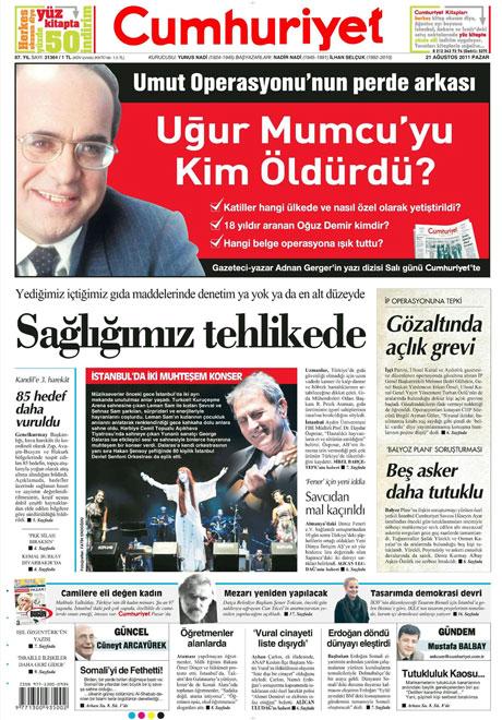Taraf'tan BDP'ye geri dön manşeti! galerisi resim 4