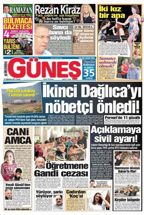 Taraf'tan BDP'ye geri dön manşeti! galerisi resim 5