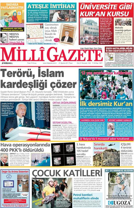 Taraf'tan BDP'ye geri dön manşeti! galerisi resim 8