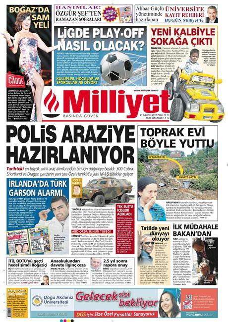 Taraf'tan BDP'ye geri dön manşeti! galerisi resim 9