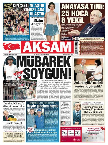 Günün önemli gazete manşetleri (22.08.11) galerisi resim 1