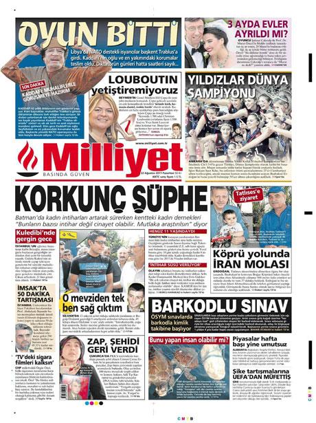 Günün önemli gazete manşetleri (22.08.11) galerisi resim 10