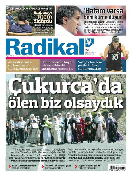 Günün önemli gazete manşetleri (22.08.11) galerisi resim 14