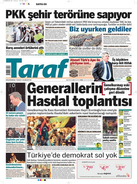 Günün önemli gazete manşetleri (22.08.11) galerisi resim 19