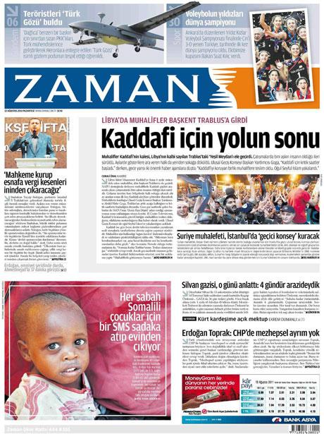 Günün önemli gazete manşetleri (22.08.11) galerisi resim 25