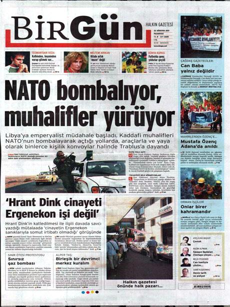 Günün önemli gazete manşetleri (22.08.11) galerisi resim 3
