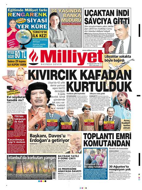 Günün önemli gazete manşetleri (23.08.11) galerisi resim 11
