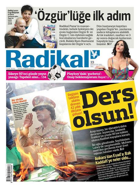 Günün önemli gazete manşetleri (23.08.11) galerisi resim 15
