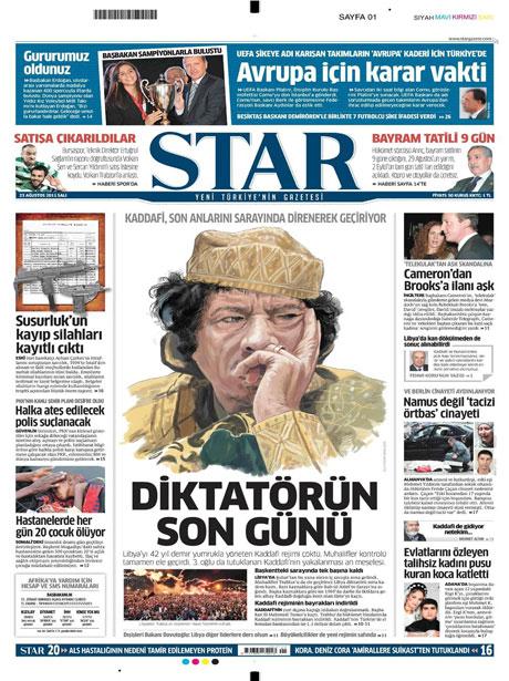 Günün önemli gazete manşetleri (23.08.11) galerisi resim 18