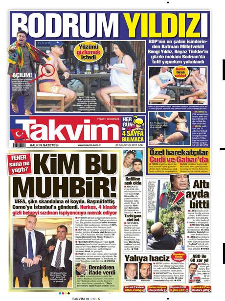 Günün önemli gazete manşetleri (23.08.11) galerisi resim 19