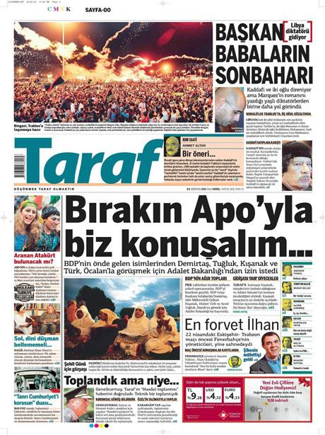 Günün önemli gazete manşetleri (23.08.11) galerisi resim 20