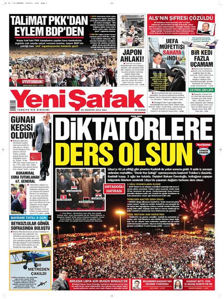 Günün önemli gazete manşetleri (23.08.11) galerisi resim 25