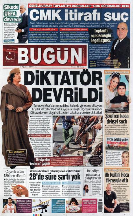 Günün önemli gazete manşetleri (23.08.11) galerisi resim 4