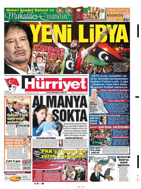 Günün önemli gazete manşetleri (23.08.11) galerisi resim 9