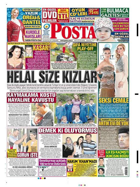 Günün önemli gazete manşetleri (24.08.11) galerisi resim 13