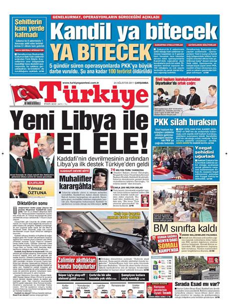 Günün önemli gazete manşetleri (24.08.11) galerisi resim 20