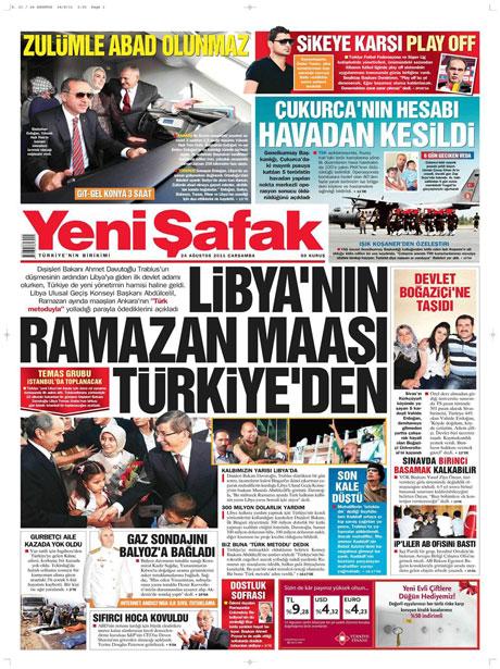 Günün önemli gazete manşetleri (24.08.11) galerisi resim 24