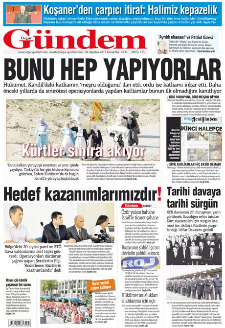 Günün önemli gazete manşetleri (24.08.11) galerisi resim 26