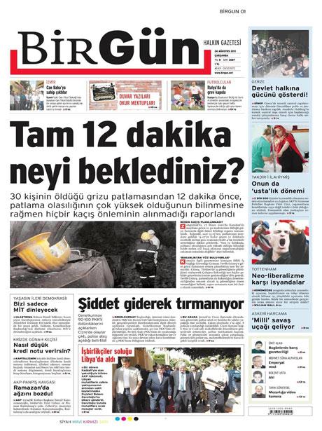 Günün önemli gazete manşetleri (24.08.11) galerisi resim 4