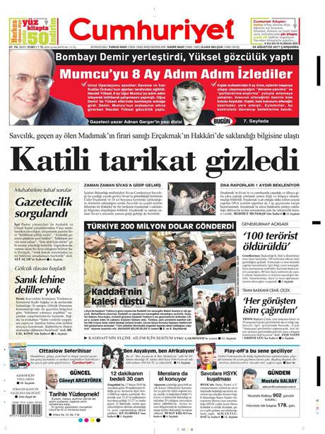 Günün önemli gazete manşetleri (24.08.11) galerisi resim 6