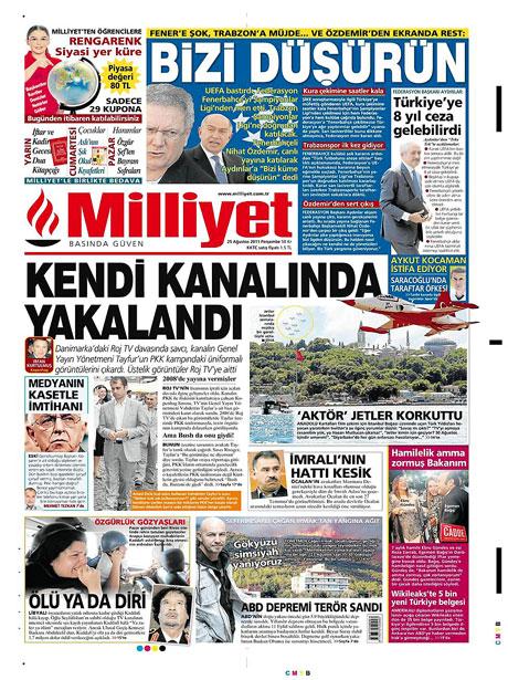 Günün önemli gazete manşetleri (25.08.11) galerisi resim 10