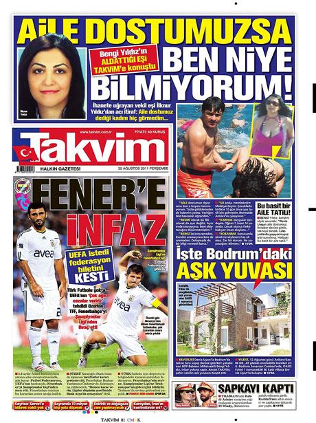 Günün önemli gazete manşetleri (25.08.11) galerisi resim 17