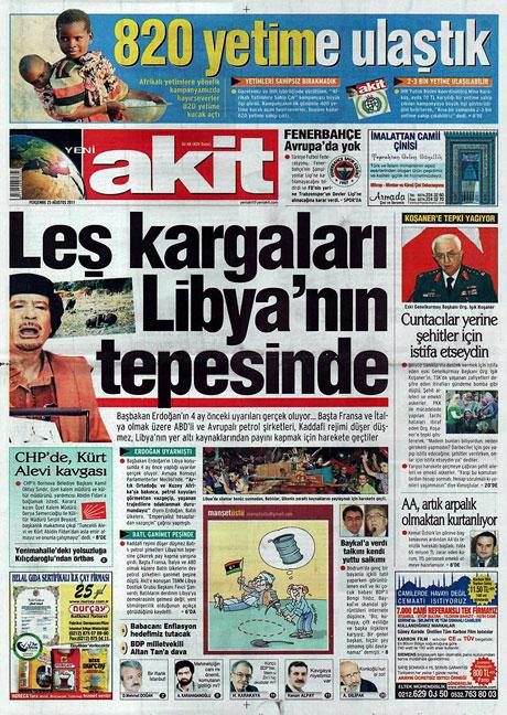 Günün önemli gazete manşetleri (25.08.11) galerisi resim 22