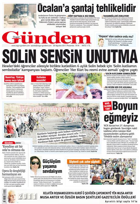 Günün önemli gazete manşetleri (25.08.11) galerisi resim 25