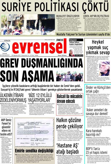 Günün önemli gazete manşetleri (25.08.11) galerisi resim 26