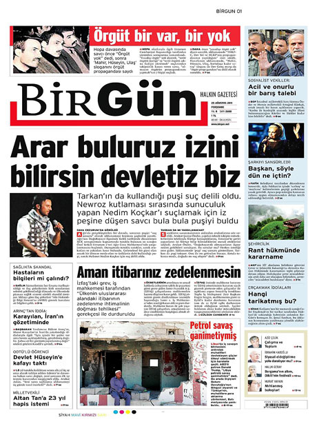Günün önemli gazete manşetleri (25.08.11) galerisi resim 3