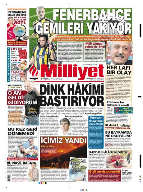 Günün önemli gazete manşetleri (26.08.11) galerisi resim 10