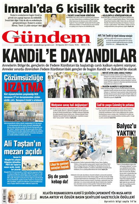 Günün önemli gazete manşetleri (26.08.11) galerisi resim 24