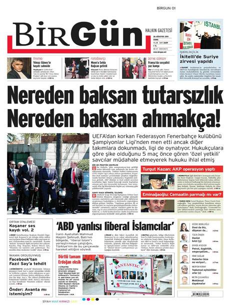 Günün önemli gazete manşetleri (26.08.11) galerisi resim 3