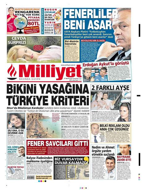 Günün önemli gazete manşetleri (27.08.11) galerisi resim 10